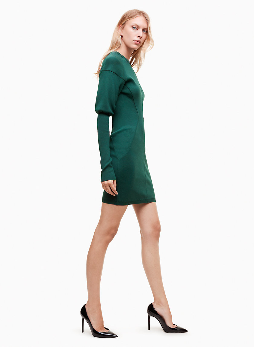 Talula SCULPTED KNIT DRESS | Aritzia