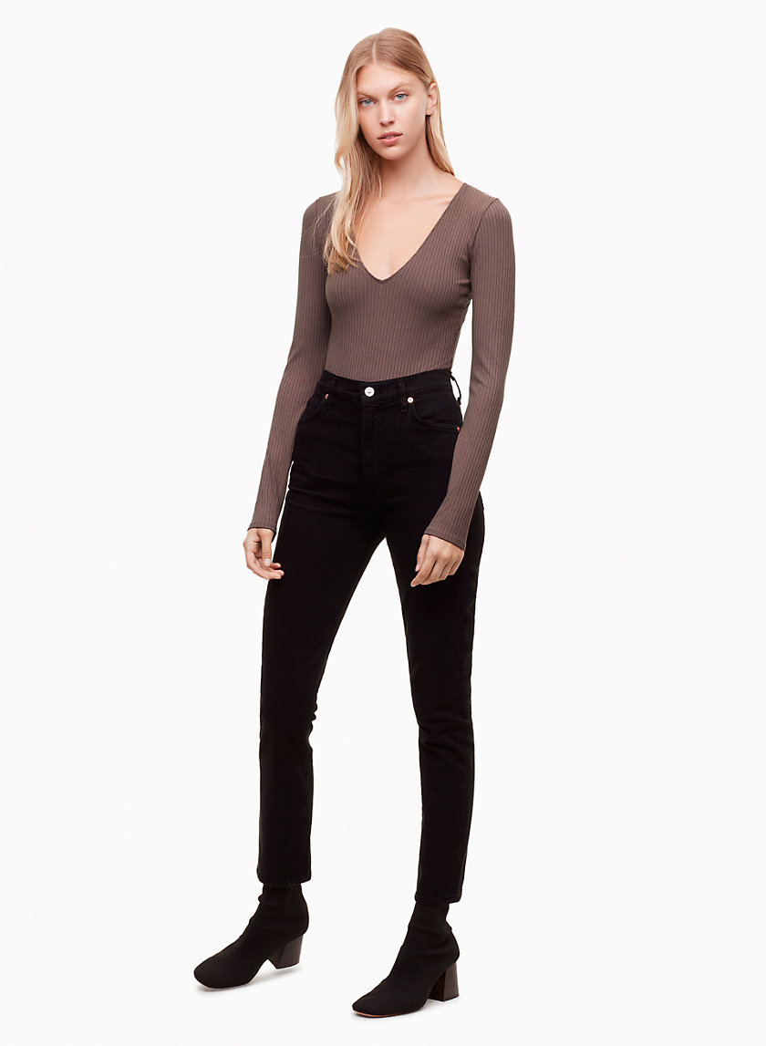 Wilfred Free GREENHOUGH BODYSUIT | Aritzia