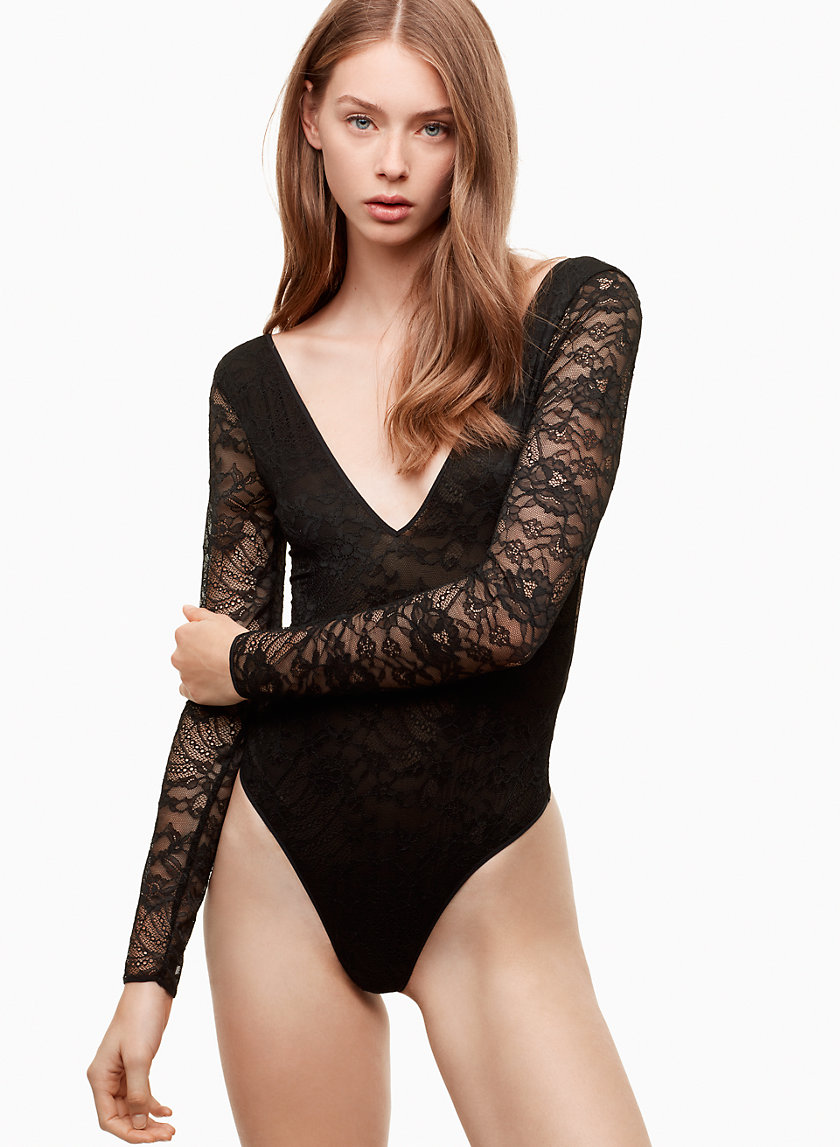 Little Moon HIBISCUS BODYSUIT | Aritzia