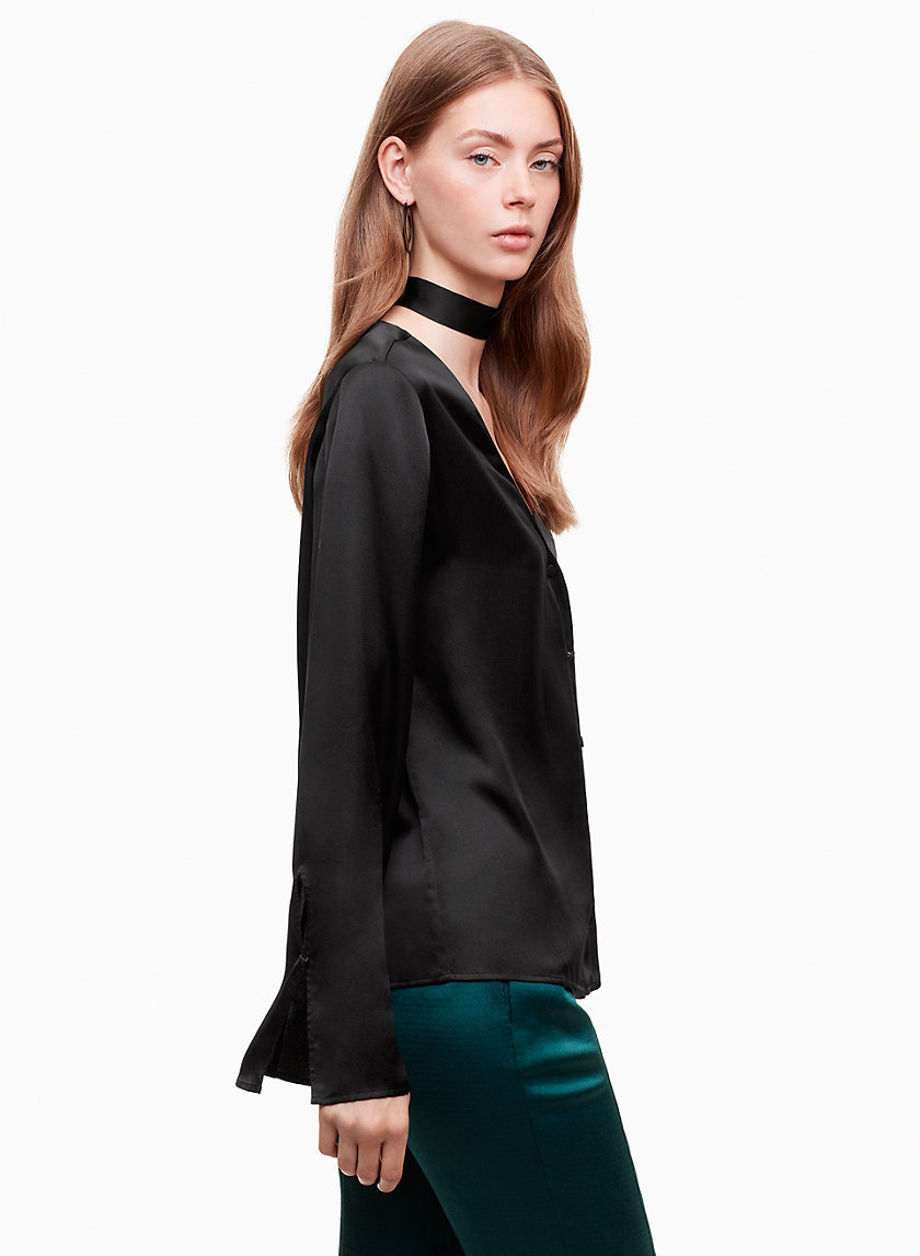 Little Moon JUNIPER BLOUSE | Aritzia