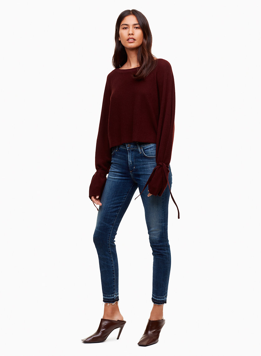 Citizens of Humanity ROCKET CROP WEEKENDER | Aritzia