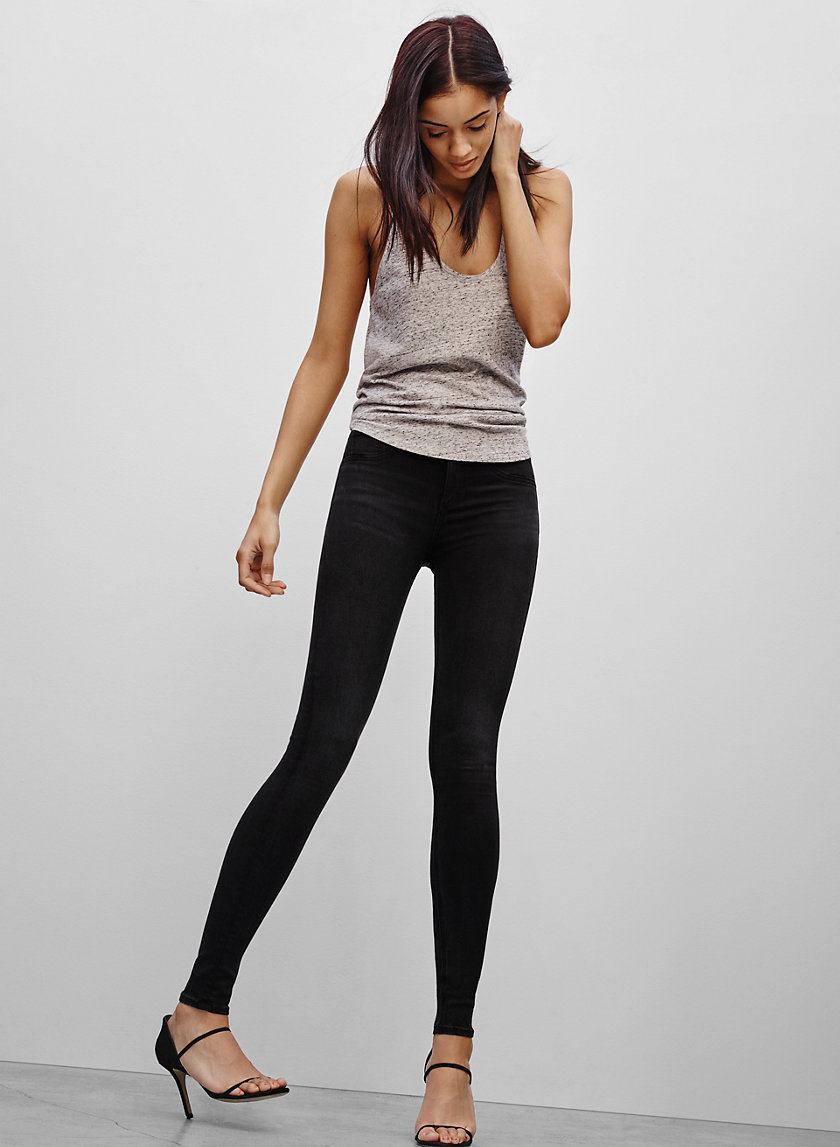 Rag & Bone/JEAN 10 HIGH LEGGING WA BK | Aritzia