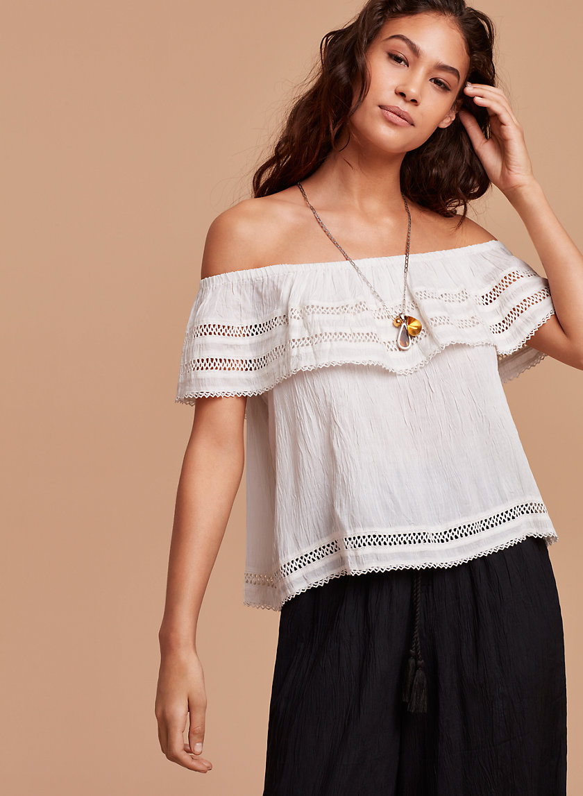 Wilfred HOLLANDE BLOUSE | Aritzia