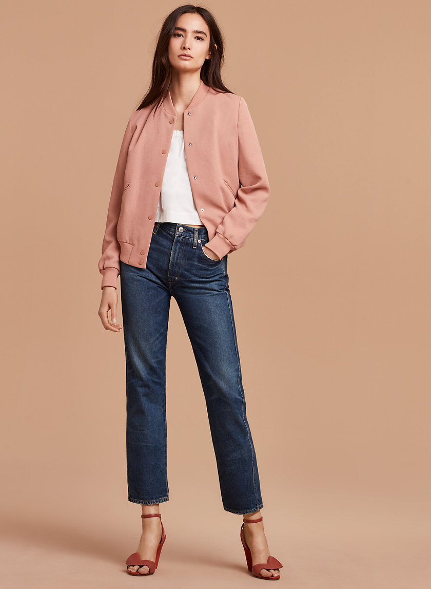 Wilfred POUSSIN BOMBER | Aritzia
