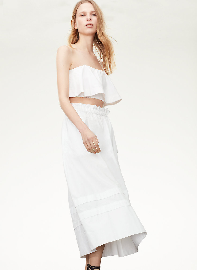 Le Fou Wilfred CHAMBLY SKIRT | Aritzia