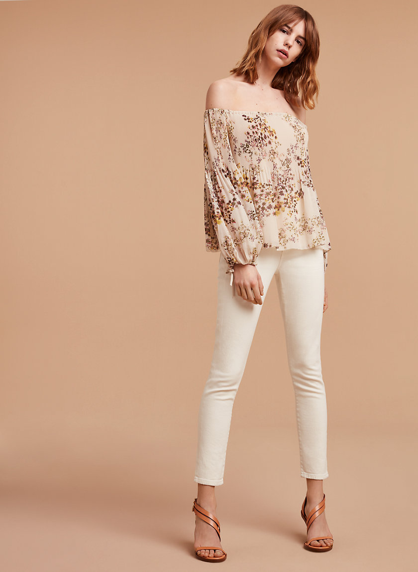 Wilfred/Citizens of Humanity CLEO CROP NATURAL   Aritzia