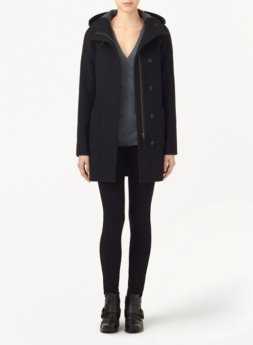 ACAD&Eacute;MIE WOOL COAT