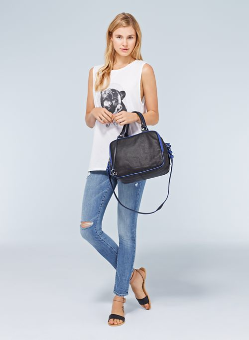 POP ZIP SATCHEL