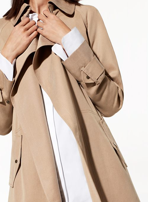 LAWSON TRENCH COAT | Aritzia