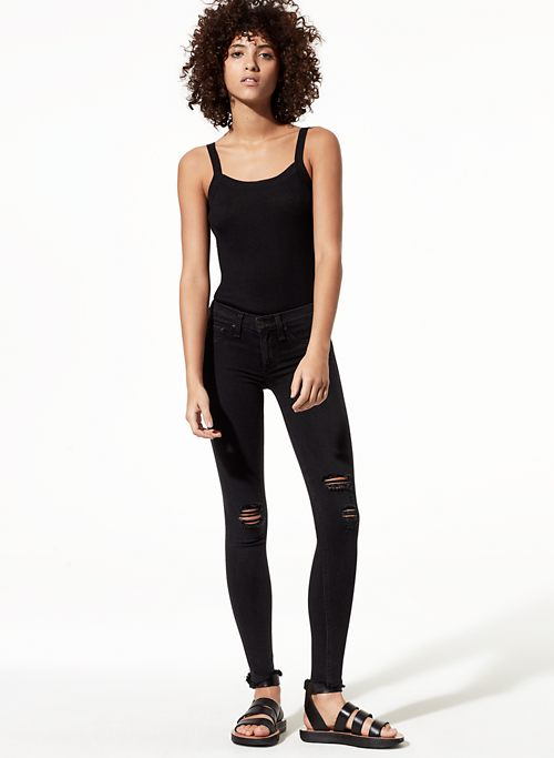 LEGGING NIGHT W HOLES | Aritzia