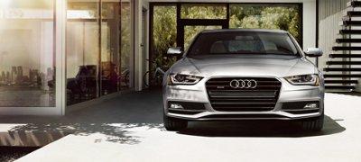Audi A4 beauty exterior