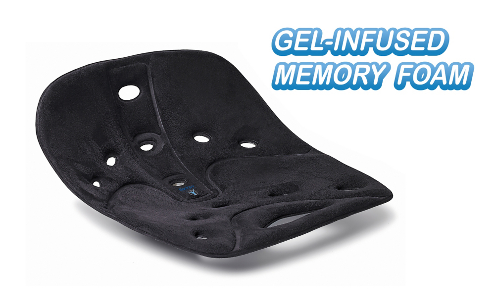 BackJoy® SitSmart Pro Relief with Memory Foam