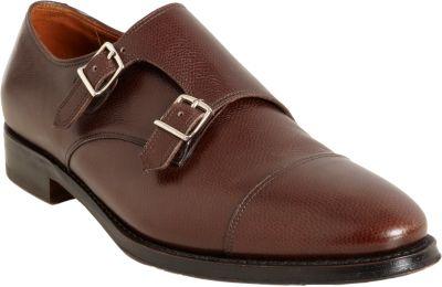 Cap Toe Double Monk Shoe