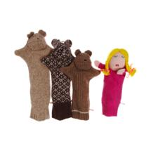 Seven Smooches - Goldilocks Puppet Set