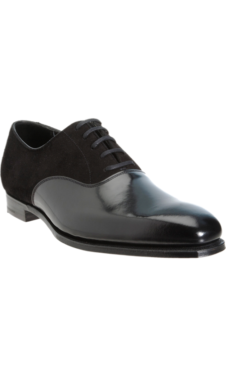 Crockett & Jones Plain Toe Balmoral - Lace-ups - Barneys.com