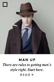 Man Up Fashion Rules
