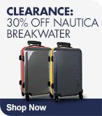 Clearance 20% off Nautica Breakwater Luggage