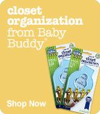 Shop Closet Organization from Baby Buddy