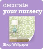 Decorate Your Nursery - Shop Wallpaper
