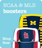 Shop NCAA & MLB Boosters