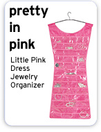 Pretty in Pink Little Pink Dress Jewelry Organizer