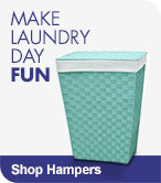 Make Laundry Day Fun - Shop Hampers