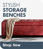 Shop Stylish Storage Benches