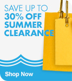Save up to 30% off Summer Clearance