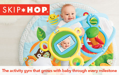 The activity gym that grows with baby through every milestone.