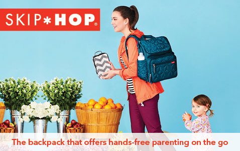The backpack that offers hands-free parenting on the go.