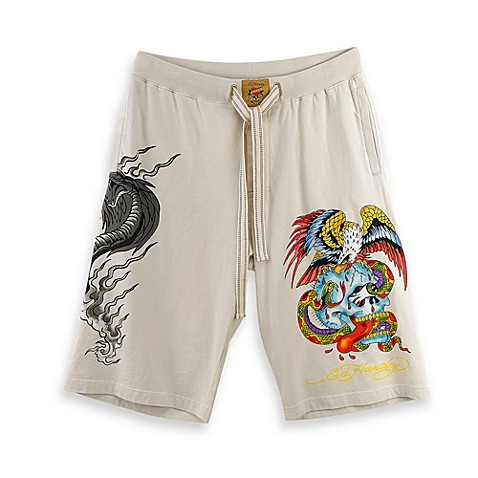 Ed Hardy® Ivory Men's Size Large Loungewear