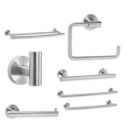 Amerock® Arrondi™ Stainless Steel 24-Inch Double Towel Bar