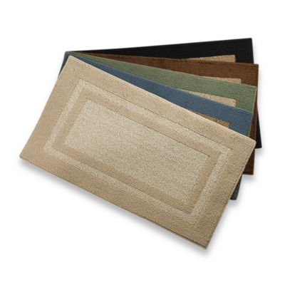 Metro Border 1-Foot 8-Inch x 2-Foot 10-Inch Accent Rug in Brown