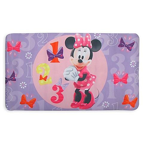 Disney 174 Minnie Bow Tique Bath Mat Buybuy Baby