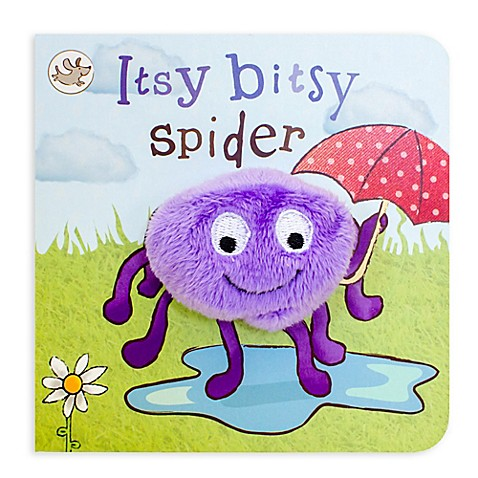 Quot Itsy Bitsy Spider Quot Little Learners Finger Puppet Board