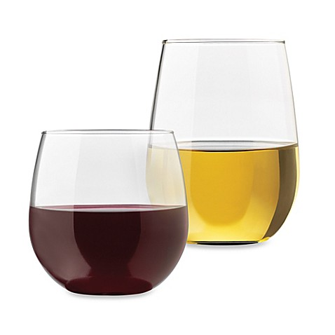 Libbey® Occasions Stemless Wine Glass Sets