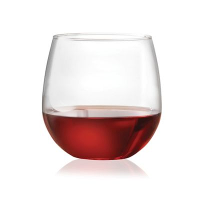 Dailyware™ Stemless 16 1/2-Ounce Red Wine Glasses (Set of 4)