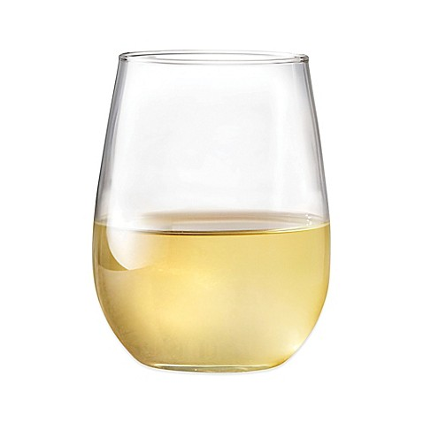 Dailyware™ 17-Ounce Stemless White Wine Glasses (Set of 4)