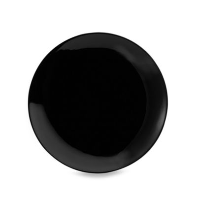 Black Coupe 12-Inch Charger (Set of 6)