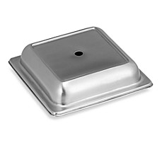 10 Strawberry Street Square 11-Inch Metal Plate Cover (Set of 6)