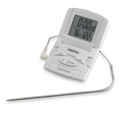 Oneida® Digital Probe Cooking Thermometer with Timer
