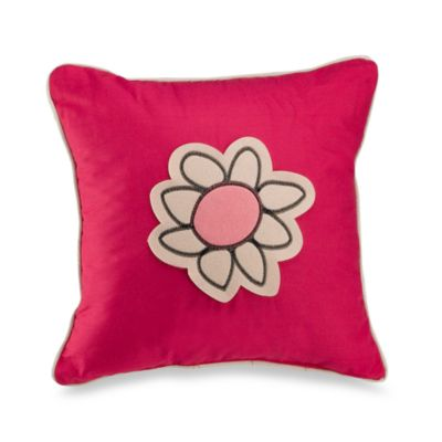 Girl's World Decorative Toss Pillow