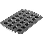 Wilton® Advance Select™ Premium 24-Cup Mini Muffin Pan in Gunmetal