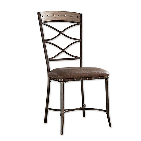 Hillsdale Emmons Dining Chairs In Grey Set Of 2 Bed Bath Beyond