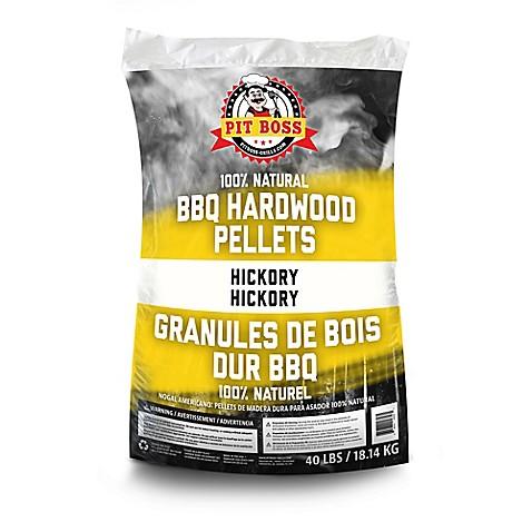Pit Boss 40-lb. Bag of Hardwood BBQ Pellets Grilling Fuel ...