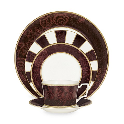 Mahogany Rose 5-Piece Place Setting by Noritake
