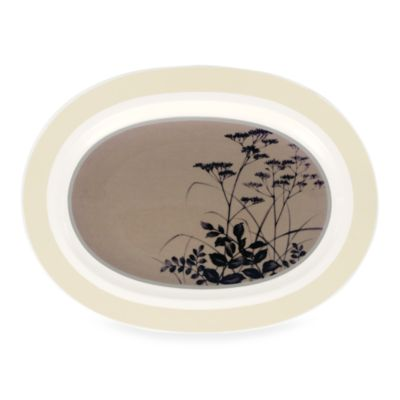 Noritake® Twilight Meadow 14-Inch Oval Platter