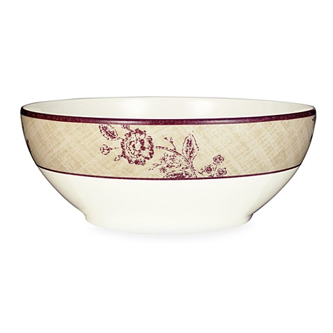 Noritake® Tapestry Rose 70-Ounce Round Vegetable Bowl