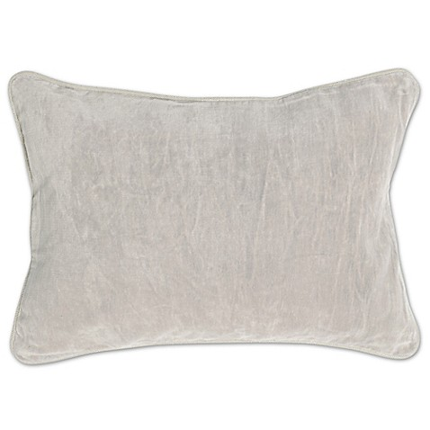 Villa Home Velvet Heirloom Oblong Throw Pillow - www.BedBathandBeyond.com