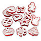 Progressive™ Baker's Cookie Cutter and Stencil Set
